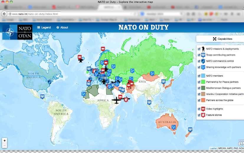 Nato on duty interactive map flaviano tarducci gumiabroncs Image collections